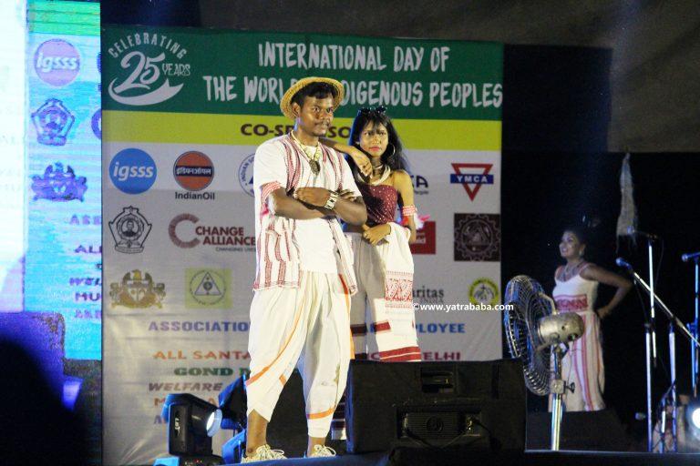 tribal fashion show delhi