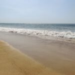 silence of sea shore at candolim beach